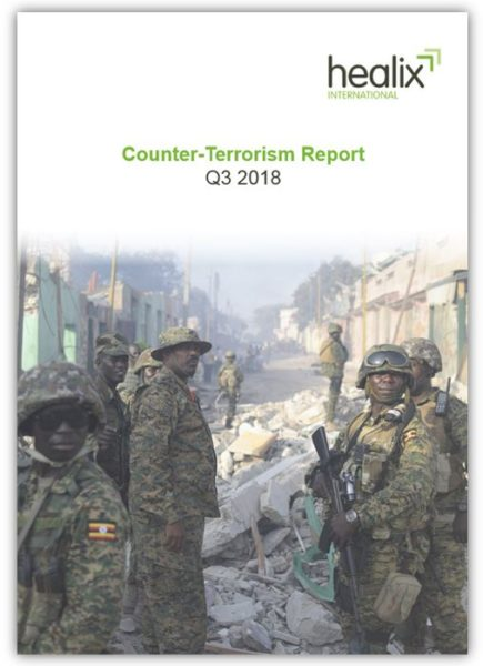 Image of Counter Terroism report q3