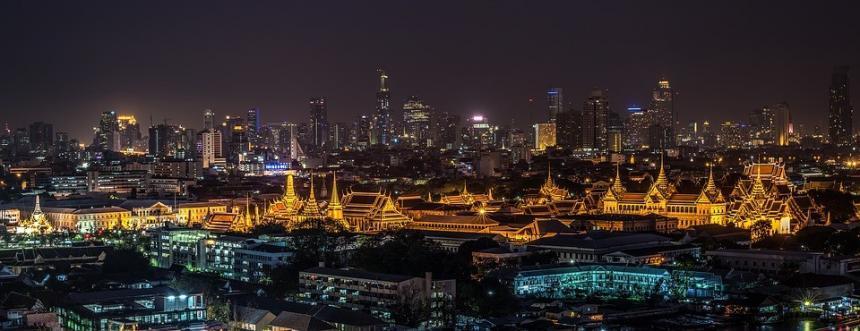 Cityscape Bangkok Thailand