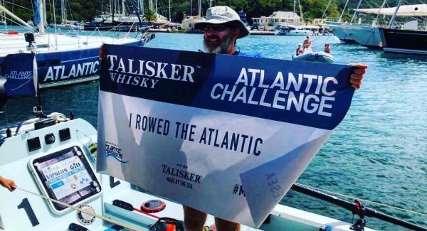Tim Crockett crosses finish line of epic solo row in second place