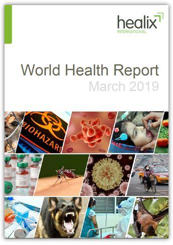 March World Health Report Front Cover Image