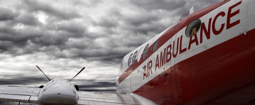 When to send an air ambulance or medical repatriation