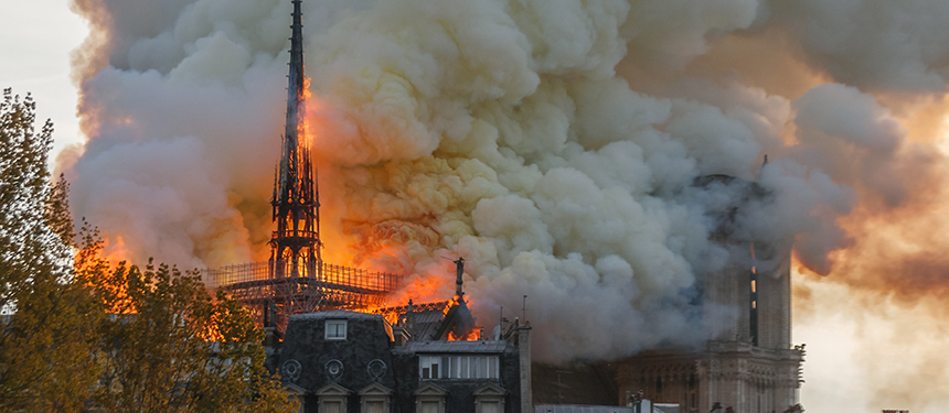 Notre Dame Paris Burning Lead Poisoning
