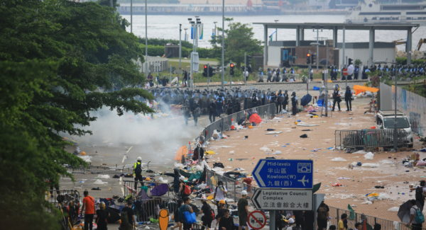 Hong Kong Protest Civil Unrest