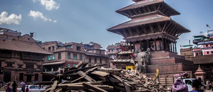 Earthquake Nepal Banner