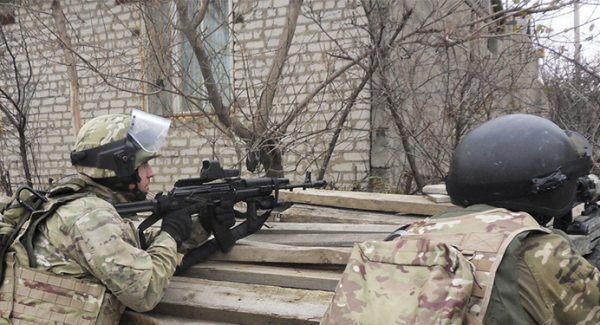 Russian Federal Security Service Employees against Insurgency In Chechan North Caucaus