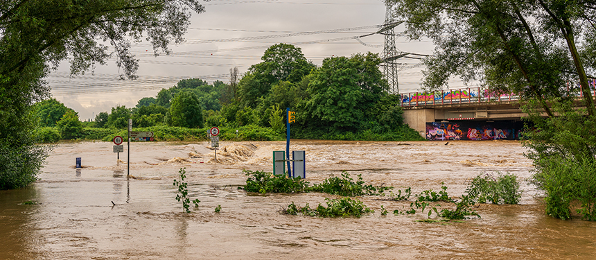 Flash flooding in europe