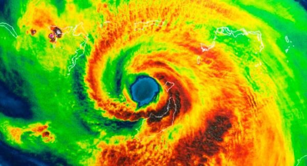 Hurricane Irma during Atlantic Hurricane Season 2020