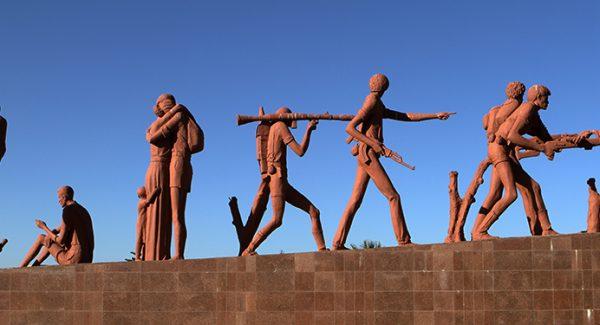The Märtyer Monument from Mekele in Ethiopia