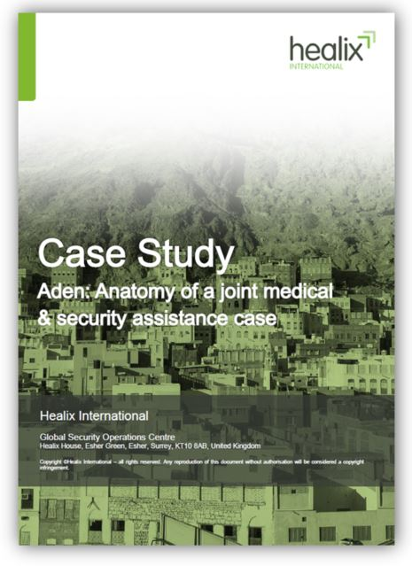 Integrated approach to medical and security assistance in Yemen case study