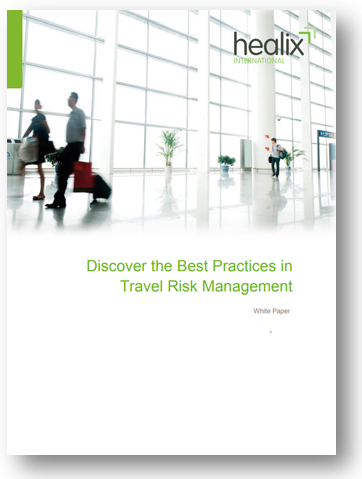 Travel risk management white paper